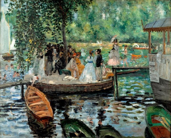 Auguste Renoir: La Grenouillère.NM 2425
