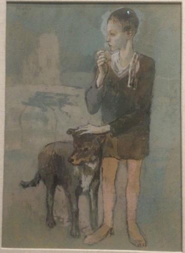 Garçon au chien