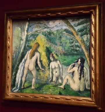 Cézanne, Trois baigneuses (1879-1882)