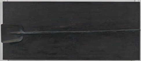 Jim Dine, A black shovel (1962)