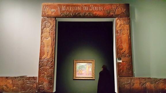 Maison du Jouir de Gauguin, inspirée des maisons maories