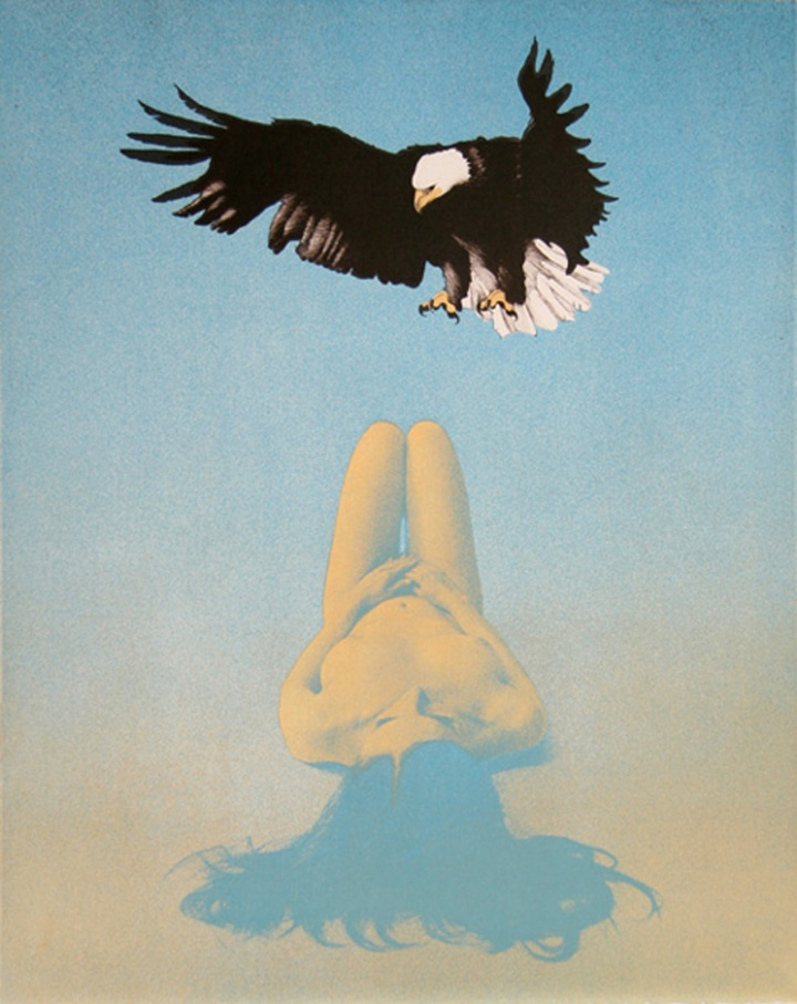 Mel ramos balled eagle
