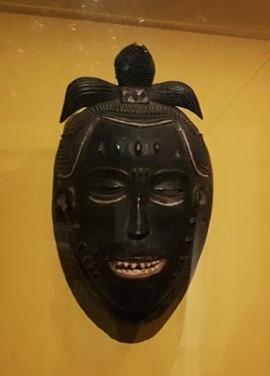 Cercle du maître de Yasua, Masque (fin XIXe-début XXe siècle)