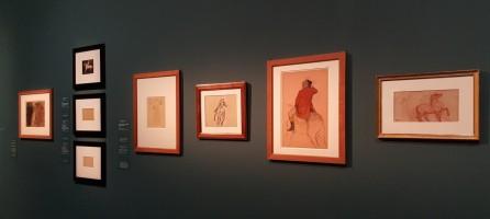 Etudes de chevaux de Degas