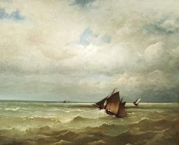 Jules Dupré, La Mer en vue à Cayeux (Musée Daubigny)