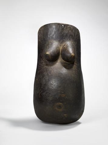 Masque ventral © musée du quai Branly - Jacques Chirac, photo Claude Germain