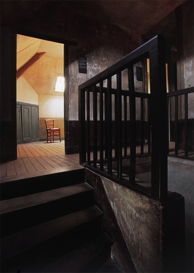 Vue sur la chambre de Van Gogh