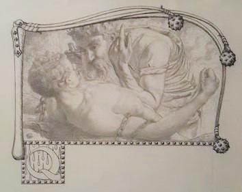 Carlos Schwabe, Vignettes et lettrines pour l'illustration des Paroles d'un croyant de Félicité de Lamennais (1906-1908)