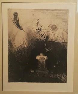 Odilon Redon, Illustration des Fleurs du Mal de Baudelaire (1890)