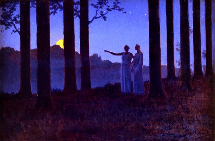Alphonse Osbert, Le Mystère de la nuit