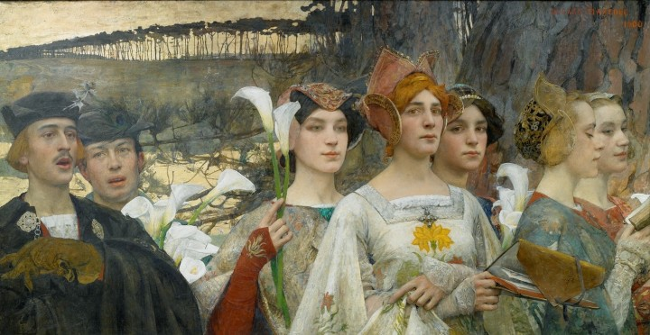Edgar Maxence, Les Fleurs du Lac (2)