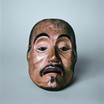 Masque de Nô - © musée du quai Branly - Jacques Chirac, photo Sandrine Expilly