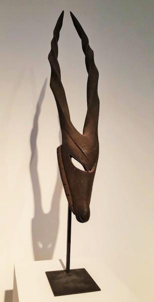 Masque d'antilope Ogoni, Karikpo - Nigéria
