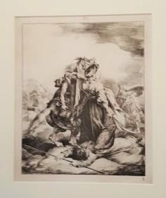 Mameluk de la Garde Impériale défendant un trompette blessé contre un cosaque (1818)