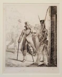 Le Factionnaire Suisse au Louvre (1819)
