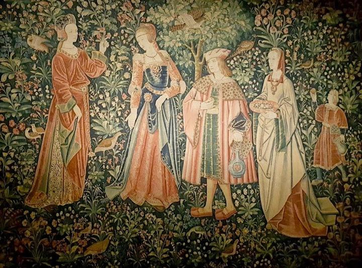 Autre tapisserie mille fleurs