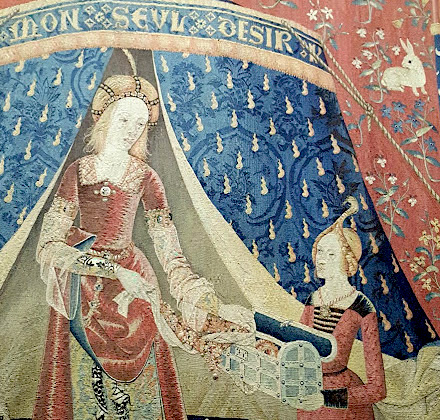 Les 5 Sens Au Moyen Age L Art Aux Quatre Vents